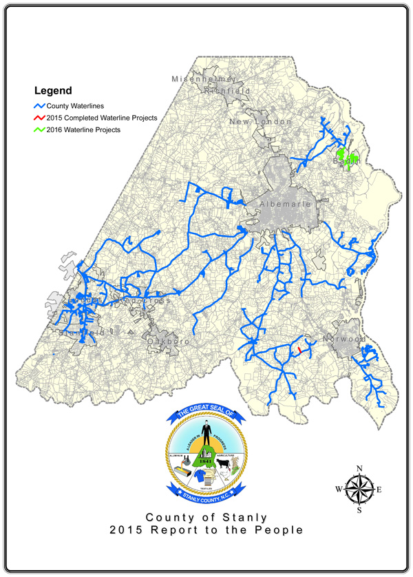 2015 Water Map